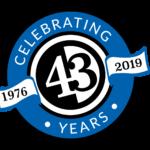 Celebrating 43 Years